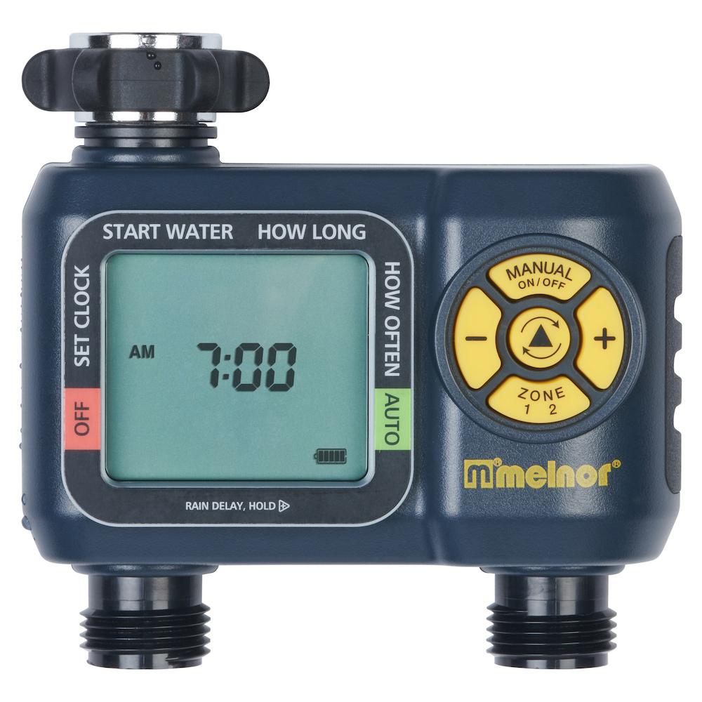 Aquatimer 2 Zone Digital Water Timer Melnor Inc